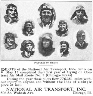 National Air Transport Bulletin - April 1929