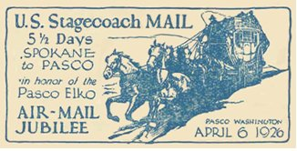 US Stagecoach Mail